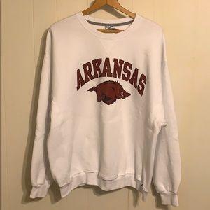Vintage Russel Athletic Arkansas Crewneck